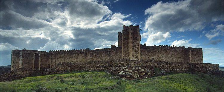 Templerburg Montalban, Spanien
