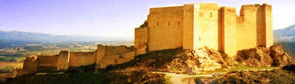 Templerburg Miravet, Spanien