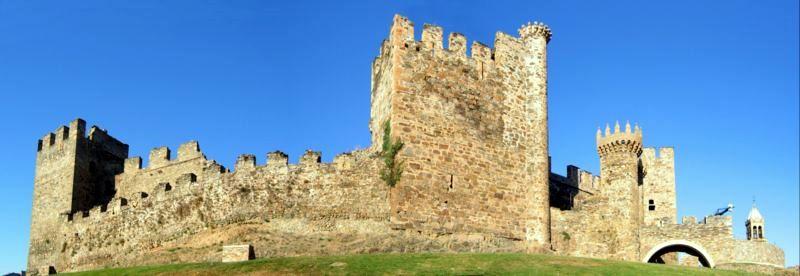 Templerburg Ponferrada, Spanien